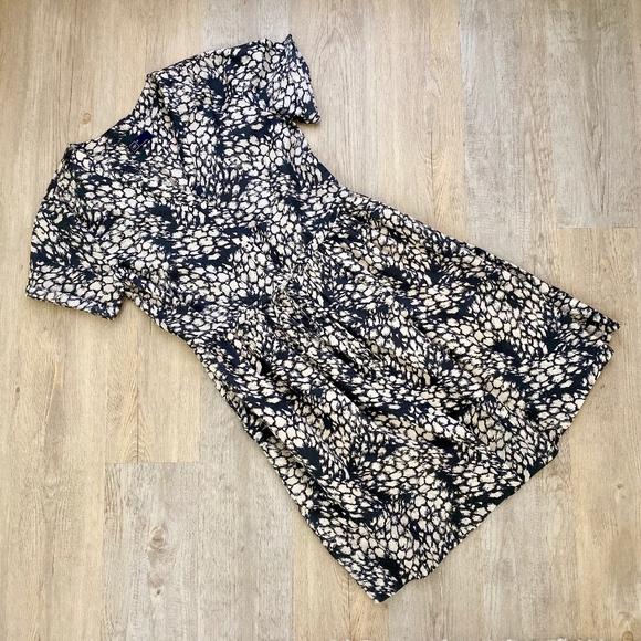 GAP Dresses & Skirts - GAP Printed Tie Waist Dress Sz 4